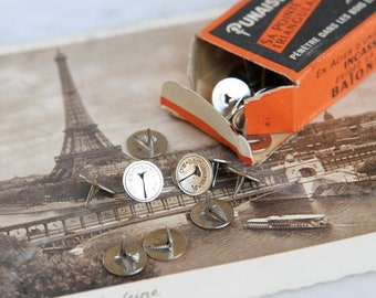 French vintage thumb tacks