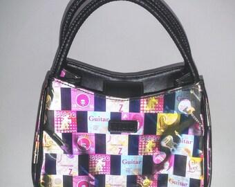 Small Handbag - Top Handle Bag - Retro Style Purse - Small Hand Bag - Designer Purse - Vintage Handbag - Vintage Purse -Small Purse - 1970s