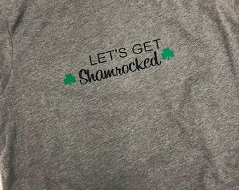 Lets get Shamrocked tee