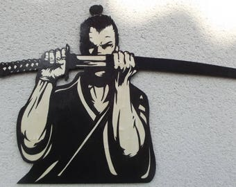 Very nice Samurai and his Asian Chinese Japanese sword