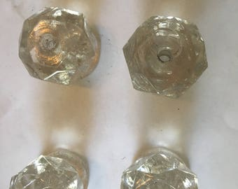 4 7 Sided Glass Drawer Pulls