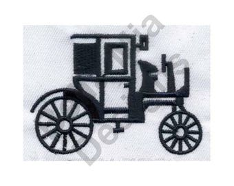 Antique Buggy - Machine Embroidery Design