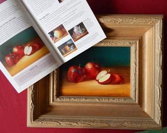 APPLES original oil painting