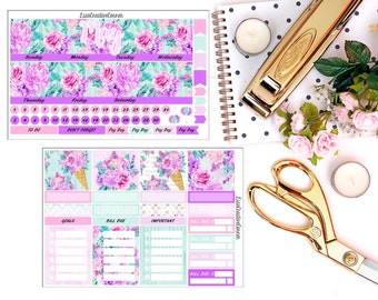 Monthly View Kit for your Erin Condren Life Planner/Happy Planner
