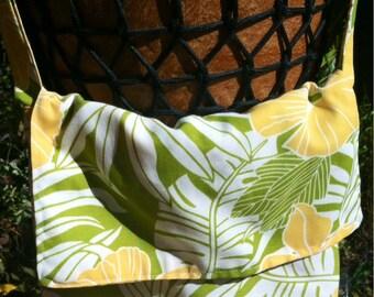SaLe Hibiscus Messenger Bag purse hawaii