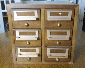 card catalog cabinet library card catalog cabinet etsy 13272