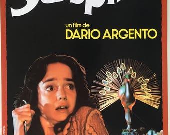 Spanish Sale Sheet Suspiria Dir. Dario Argento 1977