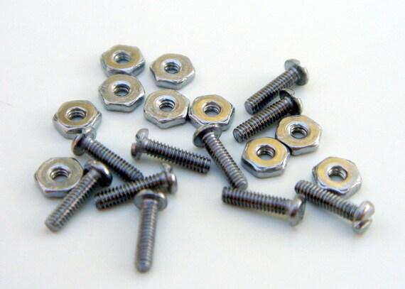 Fija tornillos remaches -30, 60 piezas - conexiones frío joyería ...