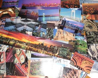 74 Piece Ephemera Pack New York City NYC Photographic Images Put a Little of the Big Apple in Your Project