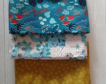 Destash Lagoon Fabric Bundle