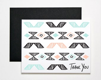 Thank You Card- Pattern