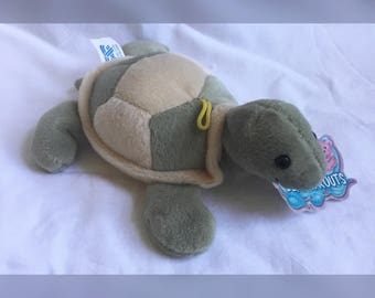 Bean Bag Turtle, Bean Sprout Tommy Turtle, Plush Turtle