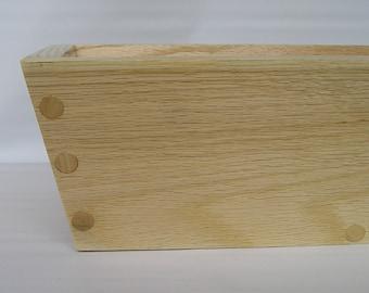Reclaimed Ash Angled Box