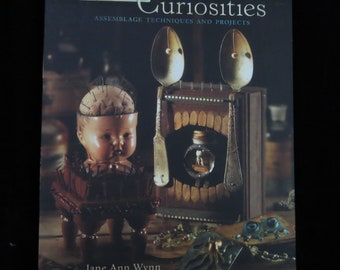 Altered Curiosities book, mixed media book, craft book, used craft book, altered jewelry, metal work, jewelry making, assemblage