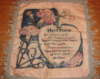 WWII Era Sweetheart Mother Pillow Sham