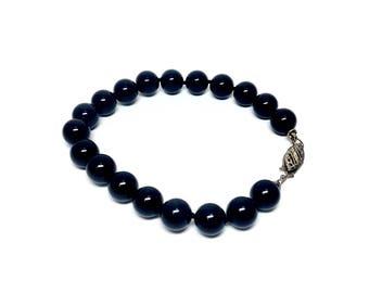 Vintage Black Onyx Bracelet