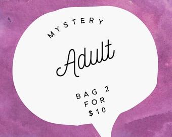 Mystery Adult grab bag 2 for 10