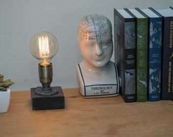Southwark : Industrial lamp / Edison Lamp / Pipe Lamp / Steampunk lamp / Industrial Lighting / Table Lamp / Lighting/ Home Decor/Industrial