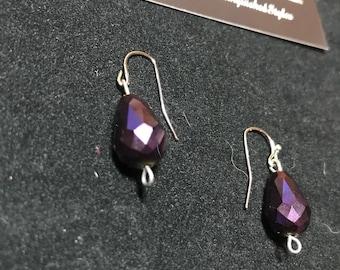 Distinguished Styles6 Deep Purple Earrings