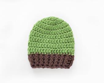 Newborn Boy Hat / Crochet Boys Hat / Baby Shower Gift Boy / Baby Boy Hat / Infant Crochet Hat / Boys Hat / Baby Boy Beanie