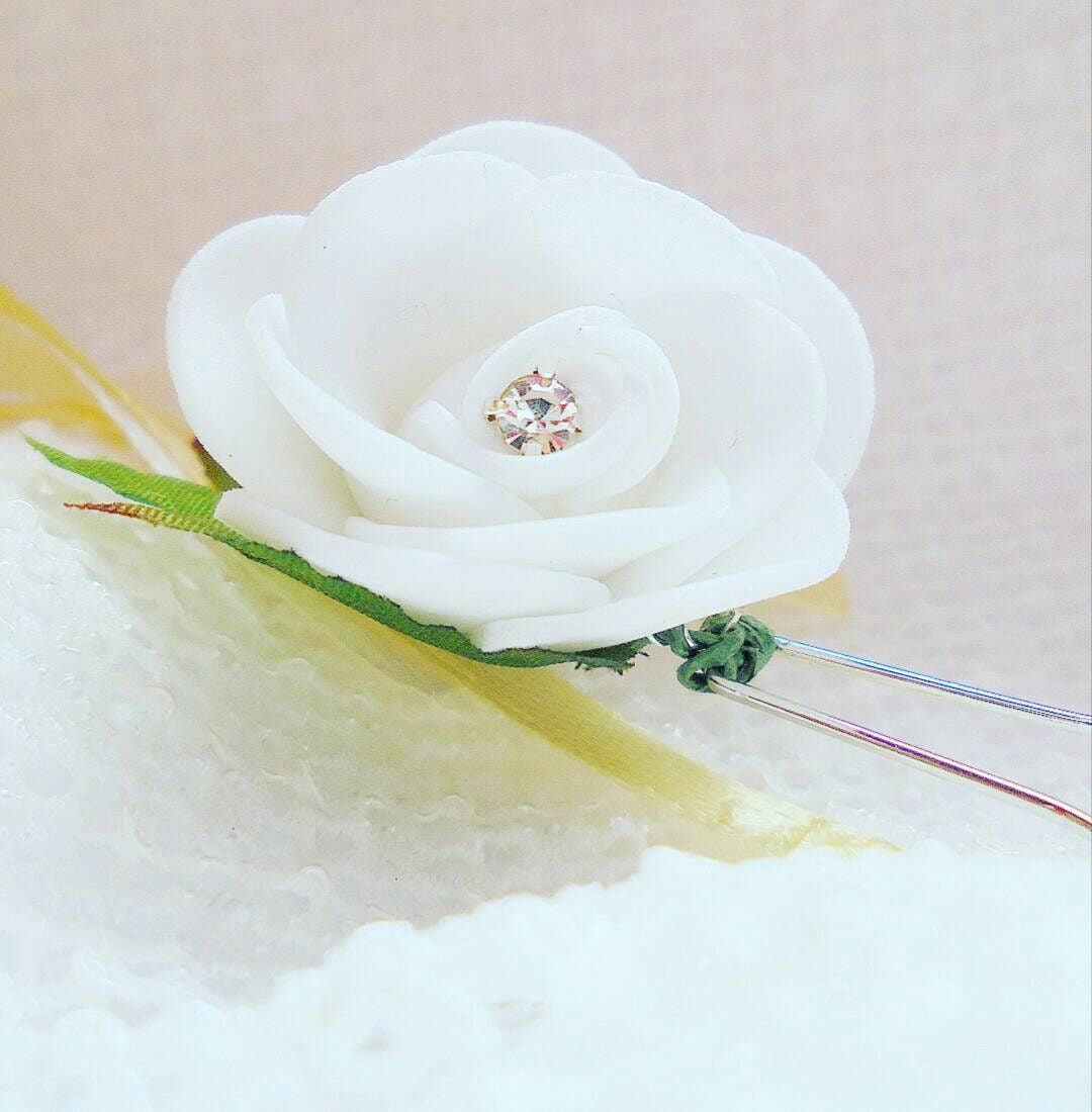 Wedding Hair Pins Flower Hair Pins Wedding Hair Accessories