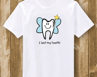 Tooth Fairy  Boy (I lost my tooth)  T-Shirt
