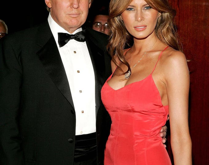 Donald and Melania Trump - 5X7, 8X10 or 11X14 Photo (OP-487)