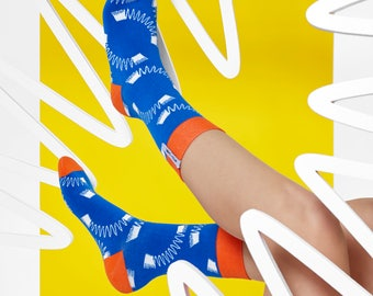 LØVE + FUN Socks First Season - Typography