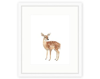 Baby Fawn Print