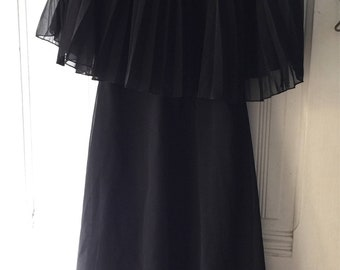 Vintage Selfridges London little black dress