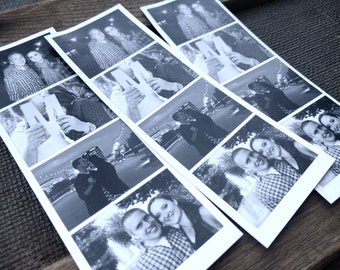 Wedding Program Photo Booth Strip | Printable