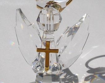 Handcrafted Crystal Angel made using Swarovski Crystal