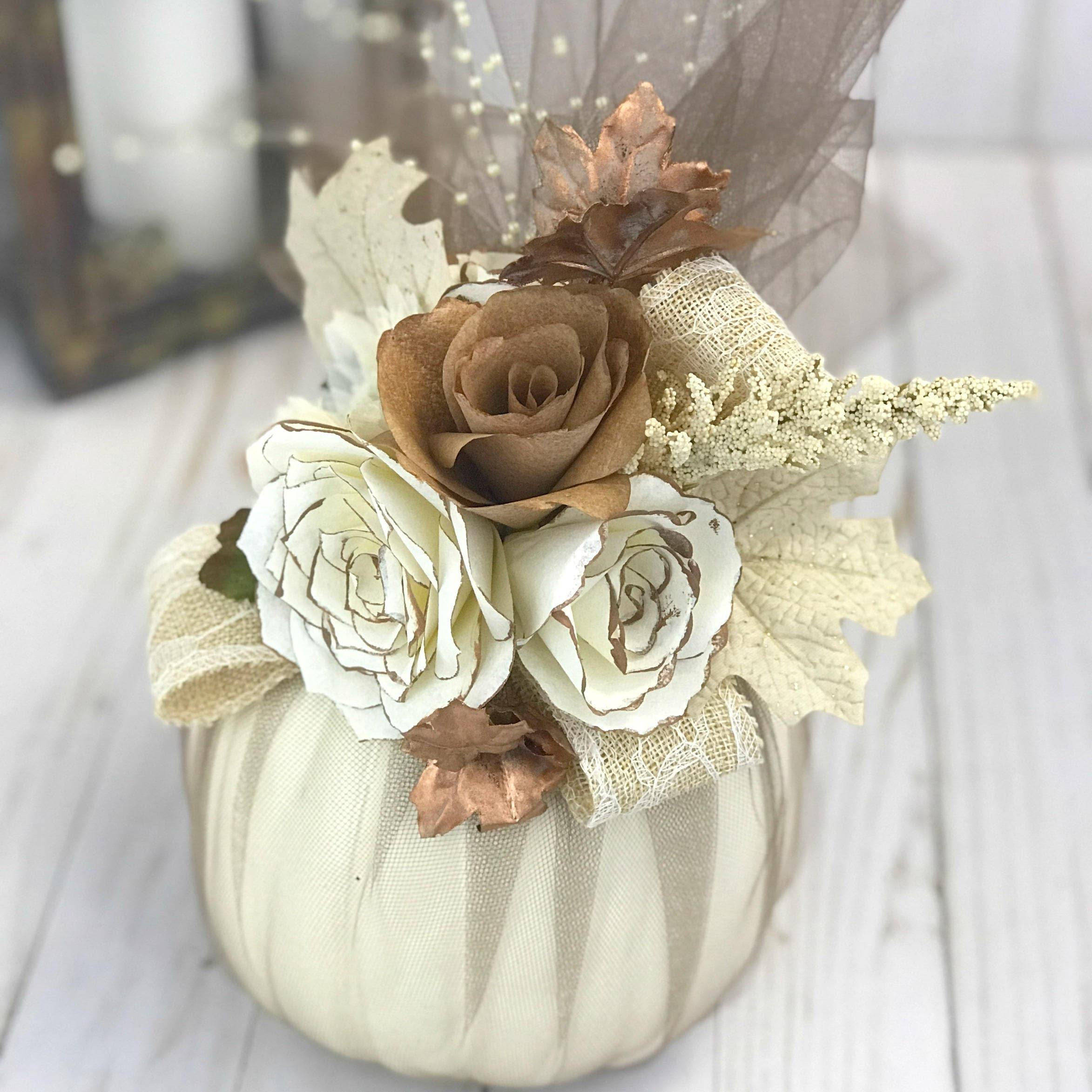 Rustic Wedding Decor Reception Centerpiece Floral Table