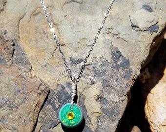 Aura Pendant Necklace / minimalist  / girls  / women