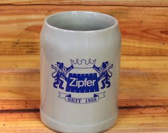 German Beer Stein Zipfer.  Box 42