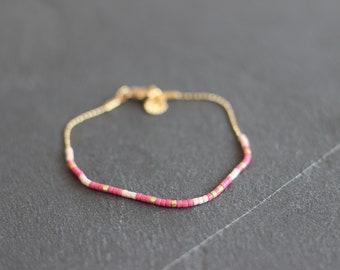 "Gold Bracelet ""Love"""