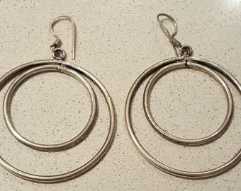 Solid Sterling Silver Earrings