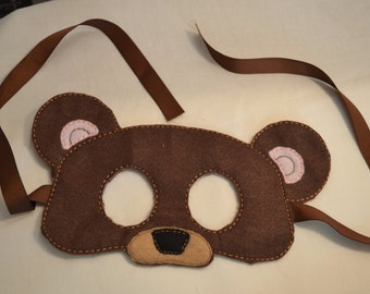 Child's Bear Mask