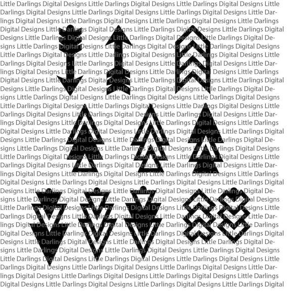 Download Earring SVG Arrow Earring SVG Leather Earring svg Earring