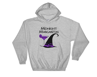 Midnight Margaritas Cheeky Witch Hoody