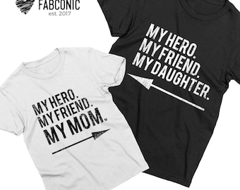 Mother daughter shirts, Mom daughter shirts, My mom my daughter shirts, Mother and daughter shirts, Matching mother daughter shirts