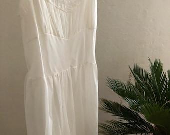 vintage white lace dress gown