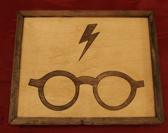 Harry Potter Wooden Inlay Wall Art