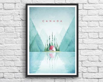 Affiche Art-Poster 50 x 70 cm - Canada Travel Poster