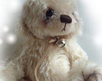 Petal artist bear epattern by Jenny Lee of jennylovesbenny boutique bears