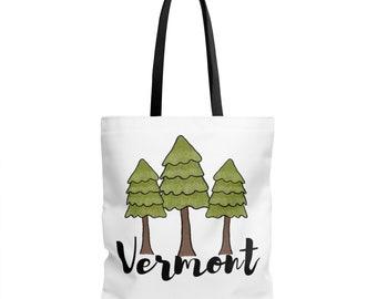 Vermont Tote Bag - VT Bag | reusable bags groceries books
