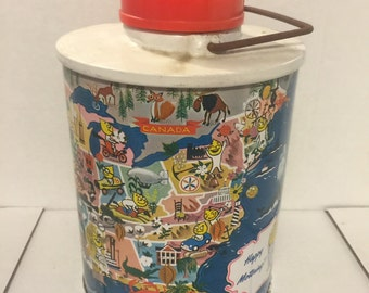 Vintage Travel Thermos-ESSO Gas Company
