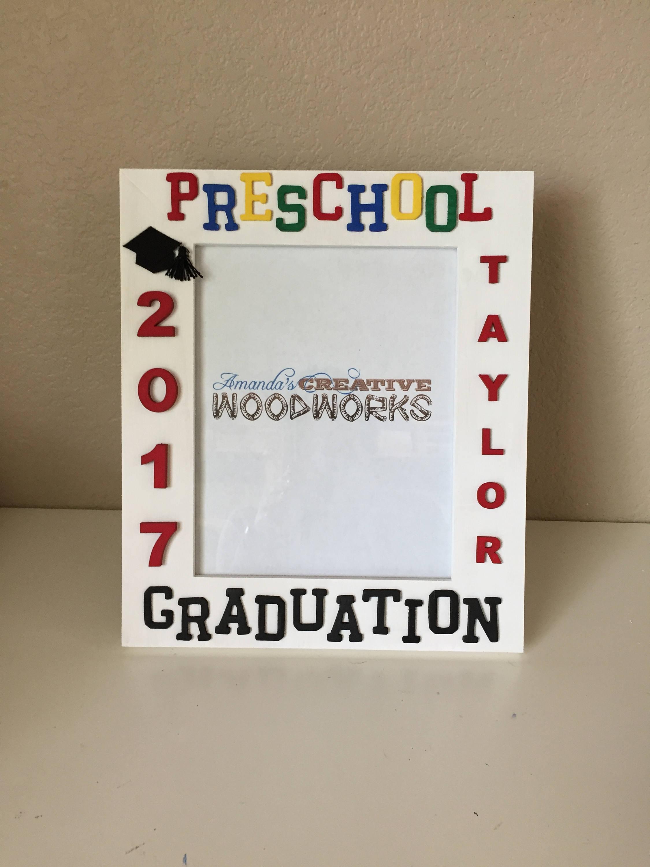 8 x 10 personalisierte Kita Bilderrahmen Kita Graduierung