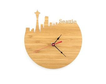 Seattle Modern Wall Clock