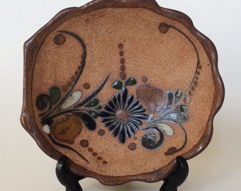 Mexican Art Pottery Candy Dish